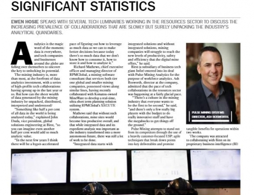 Pulse Analytics stars in Australian Mining feature on business analytics