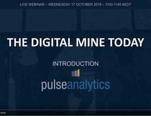 Webinar demonstrates Pulse Analytics for mining [video]